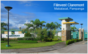 Filinvest Claremont - Landscaped Entrance